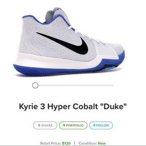 Kyríe 3 Hyper Cobalt Blue